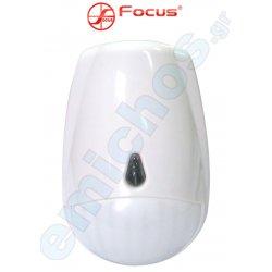 MC-335RDMT της FOCUS ασύρματος ανιχνευτής κίνησης εσωτερικού χώρου PIR εμβέλειας 12m ραντάρ κατάλληλο για όλα τα συστήματα συναγερμού της FOCUS για προστασία και ασφάλεια σπιτιού