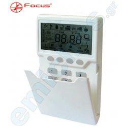 PB-500R LCD της FOCUS ασύρματο ηλεκτρονικό ψηφιακό πληκτρολόγιο για σταθερή και φορητή χρήση για το FC-7664