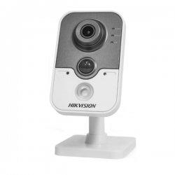DS-2CD2432F-I(W) Hikvision ip εσωτερική κάμερα 3ΜP δικτυακή με σταθερό φακό τύπου Cube με εγγραφή και αποθήκευση εικόνας και ήχου και ανιχνευτή κίνησης εσωτερικού χώρου
