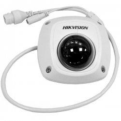 DS-2CD2542FWD-IWS Hikvision μεταλλική ip κάμερα ασύρματη 4MP Dome σταθερού φακού με ενσωματωμένο μικρόφωνο και μεγάφωνο και υποδοχή κάρτας SD