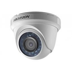 DS-2CE56C0T-IRF 2.8 Hikvision 4in1 οικονομική εξωτερική Κάμερα ασφάλειας Dome ποιότητας 1 mega pixel εξωτερικού χώρου μικρών αποστάσεων 20 μέτρων