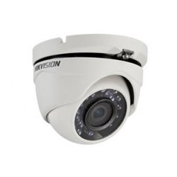 DS-2CE56C0T-IRM Hikvision Dome εξωτερικού χώρου οικονομική Κάμερα ασφάλειας ποιότητας 1 mega pixel εξωτερική μικρών αποστάσεων 20 μέτρων