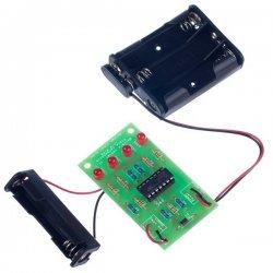 2102 KItronik Battery Tester Project Kit οικονομικό εκπαιδευτικό κιτ μέτρησης στάθμης μπαταρίας εκπαιδευτικές κατασκευές