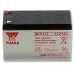 NP7-12L Yuasa επαναφορτιζόμενη μπαταρία μολύβδου VRLA βαθιάς εκφορτίσεως 12Volt 7Ah με μεγάλη διάρκεια ζωής για συστήματα ασφαλείας συναγερμούς UPS