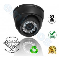 DMD122 της Diamond κάμερα μικρή dome οροφής CCTV IP65 αντιβανδαλιστική vandal proof IR  με Sony 700TVL Super Had CCDII για εσωτερική παρακολούθηση και ασφάλεια