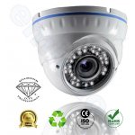 DMD118 της Diamond IR κάμερα Dome Οροφής εσωτερικη αντιβανδαλιστική Varifocal 2 mega pixel γιά ασφαλεια και προστασία με Sony CCDII 500TVL