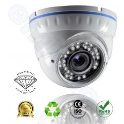 DMD115  Diamond μικρή κάμερα IR dome εσωτερικού χώρου για ασφάλεια και προστασία με SONY CCDII 650TVL αντιβανδαλιστική
