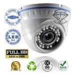 DMD-190 της Diamond Full HD IP επαγγελματική κάμερα εσωτερικού χώρου με IR LED 20 μέτρων 1/3 Sony CMOS Sensor 2.1 MP IP65 STARVIS 3.6 mm 3MP