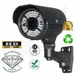 DMD111-0115 της Diamond εξωτερική κάμερα IR CCTV varifocal 2M PIXELS παρακολούθησης εξωτερικού χώρου με Sony CMOS 1.4mp 1000TVL 720p με ir-cut OSD για περιμετρική ασφάλεια