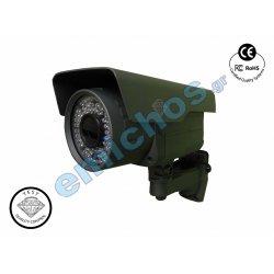 DMD147 της Diamond κάμερα ασφάλειας και προστασίας motor zoom autofocus IR CCTV varifocal 2M PIXELS παρακολούθησης εξωτερικού χώρου με Sony Super HAD II Effio-e  CCD 700TVL για περιμετρική ασφάλεια