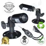 DMD185 Diamond κάμερα μικρή MINI CCTV bullet παρακολούθησης  PINHOLE LENS 1/3 Super HAD CCDII Sony 650TVL COLOUR / 700TVL BLACK DWDR OSD DNR εσωτερικής ασφάλειας
