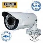 DMD191 της Diamond Full HD IP επαγγελματική κάμερα εξωτερικού χώρου με IR LED 60 μέτρων 1/3 Sony CMOS Sensor 2.4 MP IP66 αδιάβροχη Varifocal 2.8-12 mm 3MP