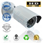 DMD203 Diamond AHD bullet κάμερα εξωτερικού χώρου 1/3 1mp CMOS  720p αισθητήρας φακό 3.6mm 2mp με ir-cut προστασίας και ασφάλειας