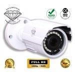 DMD204 Diamond high definition εξωτερική επαγγελματική διακριτική κάμερα ποιότητας HD 1080p εξωτερικού χώρου, οικονομική με υπέρυθρα ir νυχτερινής παρακολούθησης ασφάλειας και προστασίας