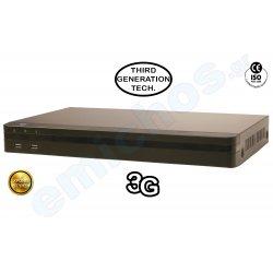 DMD-918509 της Diamond NVR καταγραφικό 9 καναλιών 9ch για IP κάμερες FULL HD υψηλής πιστότητος