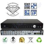 DMD918616 της Diamond Επαγγελματικό Οικονομικό Καταγραφικό 16 καμερών 16CH καναλιών DVR CCTV full 960H HDMI Hexaplex με 2 Hard Disk εως 8TB Η264 Δικτυακο για περιμετρικη προστασια και ασφαλεια