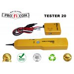 TESTER 20 Pro.fi.con continuity cable tracker with tone generator, οικονομικός ανιχνευτής καλωδίων με γεννήτρια σήματος